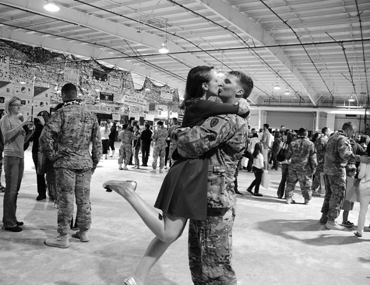 Welcoming Dennis Home from Afghanistan!
