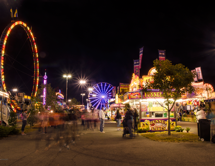Nights Are Magical at The Virginia State Fair!