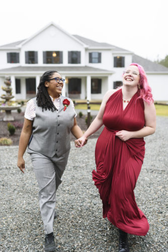 LGBTQ wedding brides Atebellum
