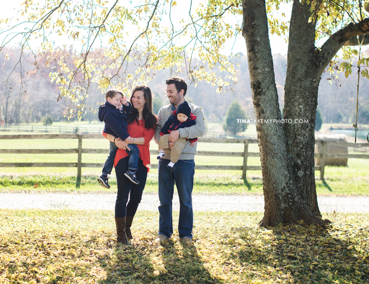 The Littles [Goochland Farm Fall Family Photographer]