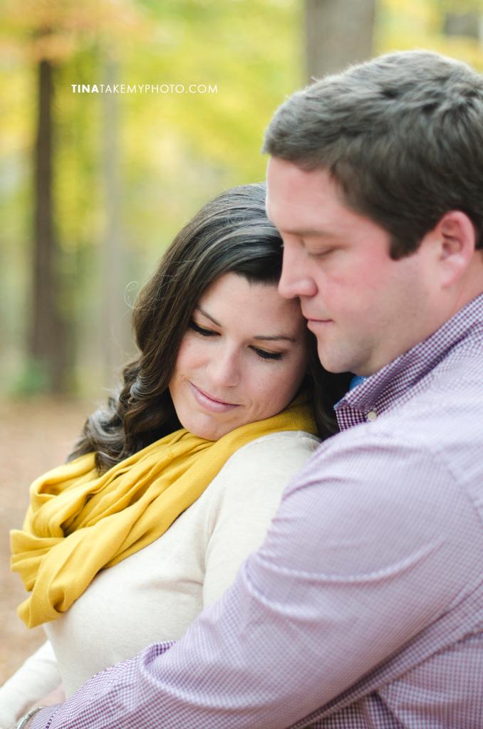 Midlothian-Swift-Creek-Woodlake-Engagement-Photographer-Fall-Woods (6)