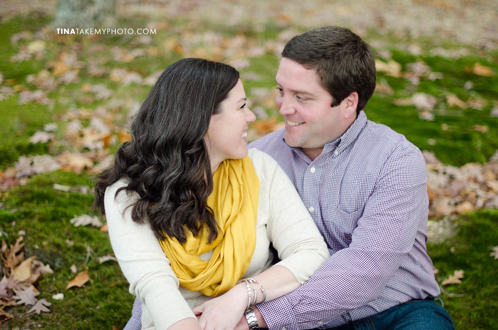 Midlothian-Swift-Creek-Woodlake-Engagement-Photographer-Fall-Woods (7)