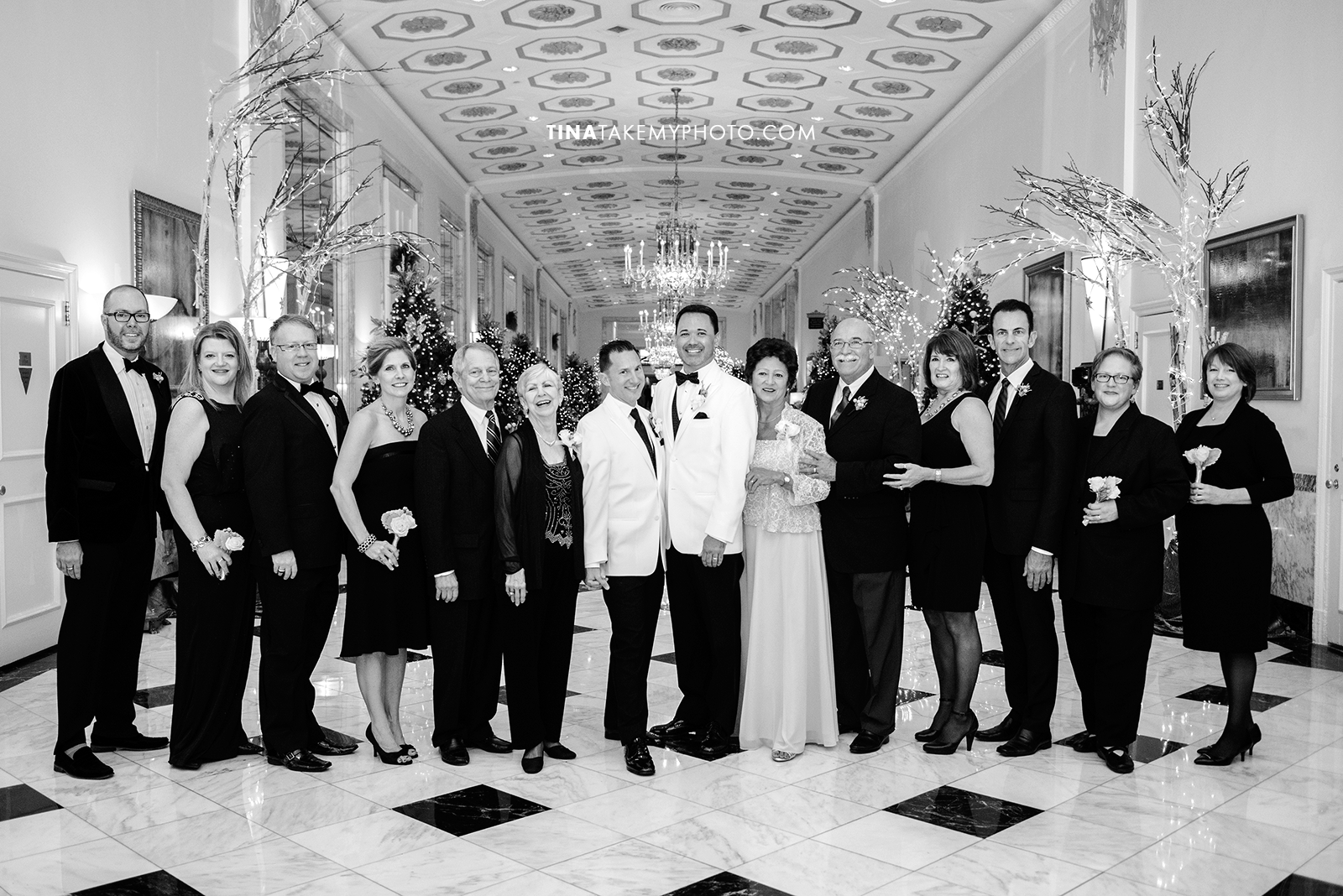 31-Washington-DC-Virginia-Gay-Same-Sex-Wedding-Pose-Party-Groomsmen-Family-Bridesmaids-2-13-14-Mayflower-Hotel