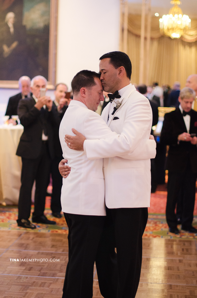 33-Washington-DC-Virginia-Gay-Same-Sex-Wedding-Men-12-13-14-First-Dance-Tuxedos-Photographer-Mayflower