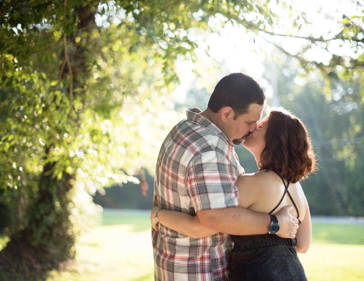 Christa & James Sunny Leonardtown Engagement [Maryland Wedding Photographer]
