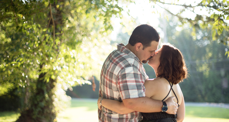 Christa & James Sunny Leonardtown Engagement [Maryland Wedding Photographer]