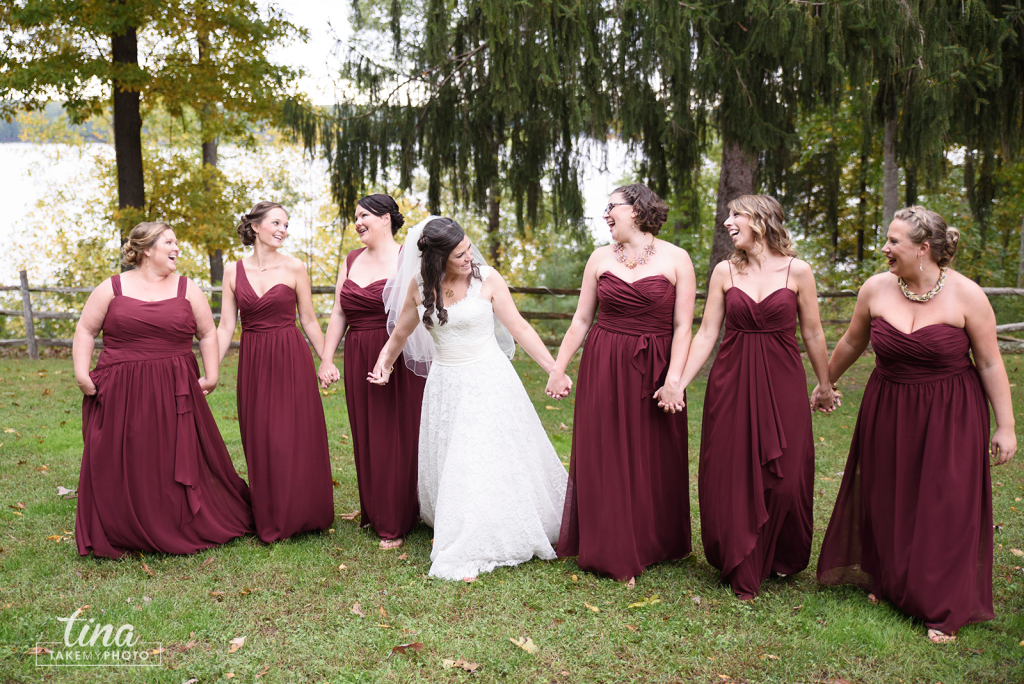 Richmond-virginia-wedding-photographer-tina-take-my-photo-midlothian-fall-celebrations-reservoir-lake-outdoor-groom-portrait-preppy-navy-khaki-maroon-bridesmaids-laughing-03