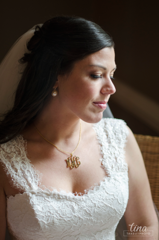 Richmond-virginia-wedding-photographer-tina-take-my-photo-midlothian-fall-celebrations-reservoir-portrait-bride-lace-window-light-natural-classic-monogram-necklace-lace04