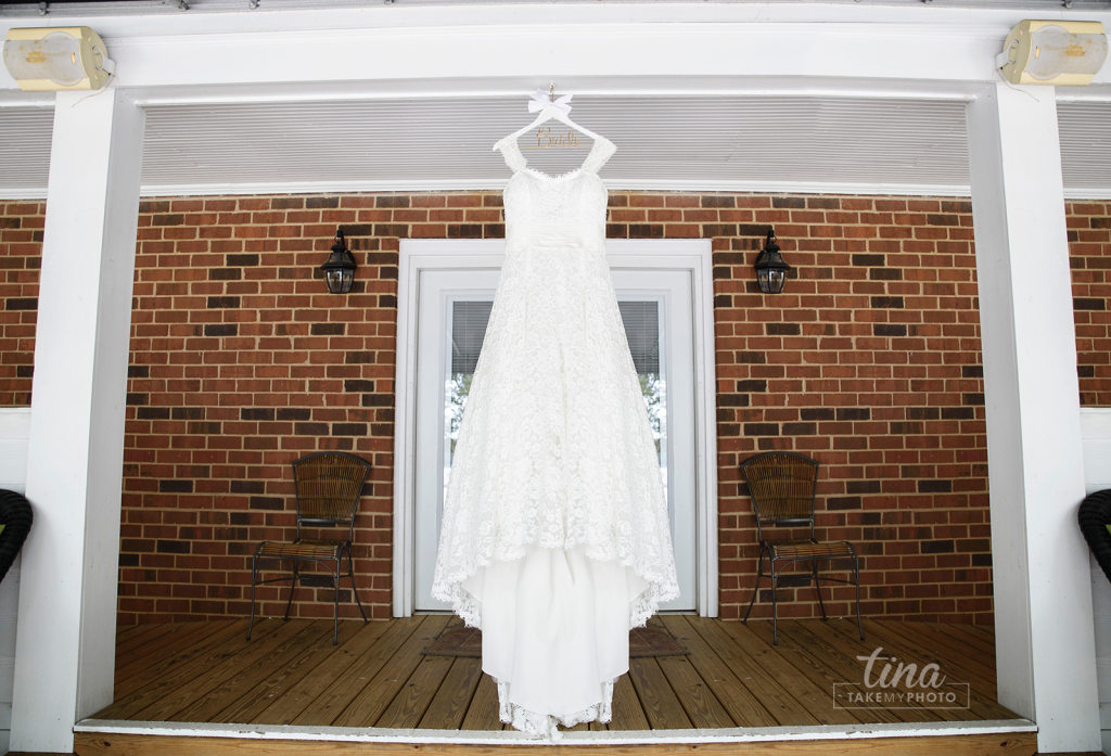 dress-lace-hang-details-getting-ready-Richmond-virginia-wedding-photographer-tina-take-my-photo-fall-celebrations-reservoir-midlothian