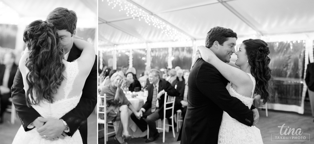 first-dance-love-black-white-sweet-Richmond-virginia-wedding-photographer-tina-take-my-photo-fall-celebrations-reservoir-midlothian