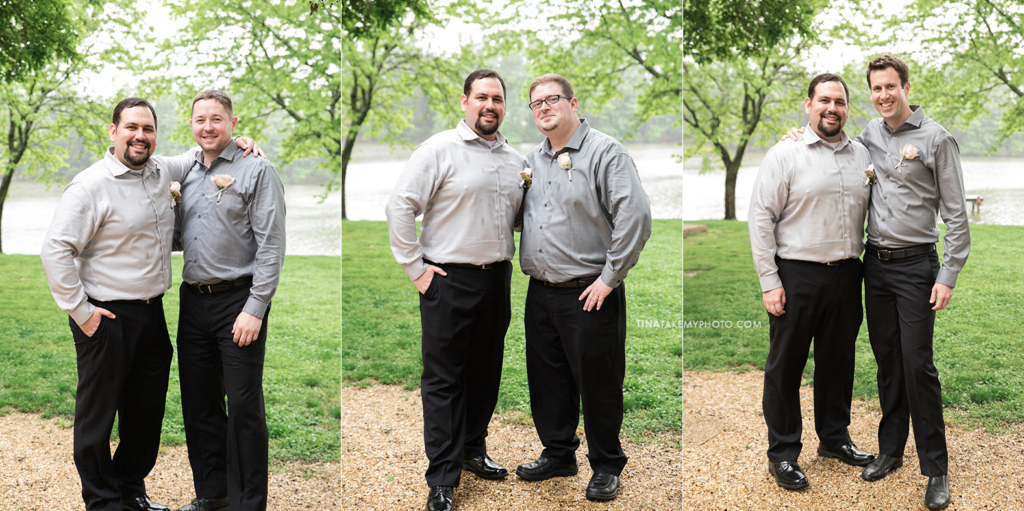 ridge-maryland-md-rainy-wedding-photographer-winery-slack-woodlawn-lake-outdoor-spring-groom-groomsmen-bridal-party-best-man-portraits