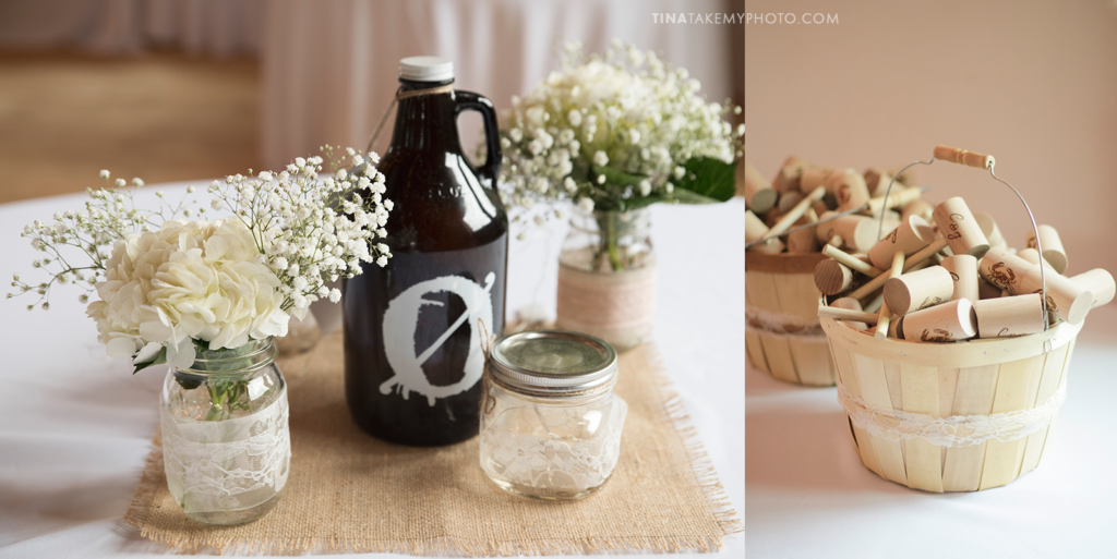 ridge-maryland-md-wedding-photographer-winery-slack-woodlawn-spring-cozy-cottage-romantic-details-mason-jar-white-flowers-burlap-beer-growler-crab-mallets-monogram-favors-dsc_3759-trt_1000