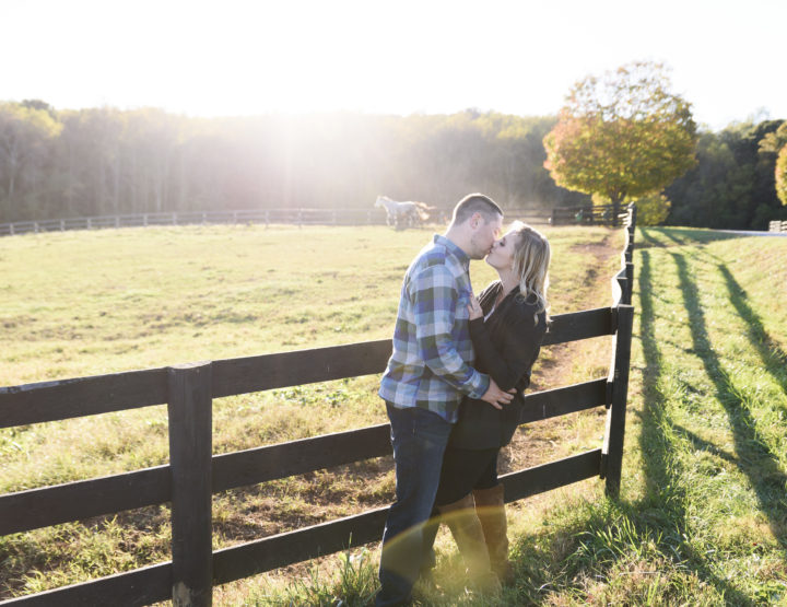 Sweet Briar College Fall Engagement | Virginia Wedding Photographer