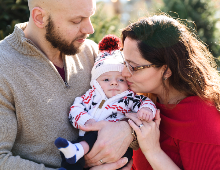 Holiday Photos With Harrison [Chesterfield, VA Family Photographer]