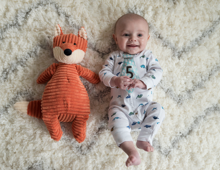 Harrison's 5 Month Photos! [RVA Family Photographer]