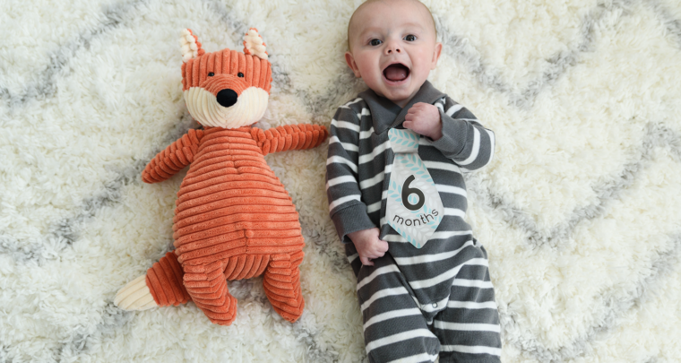 Harrison's 6 Month Photos! [RVA Family Photographer]