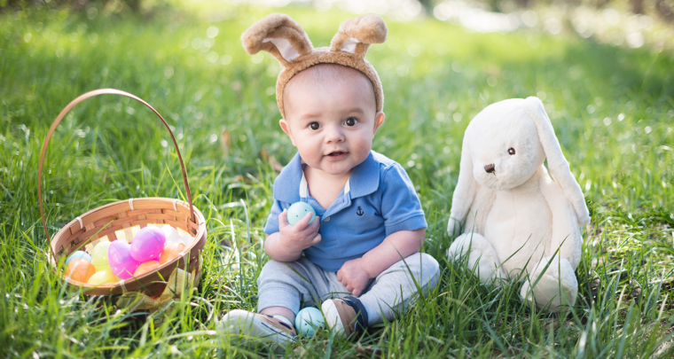 Easter Baby Mini Session | Chesterfield Family Photographer
