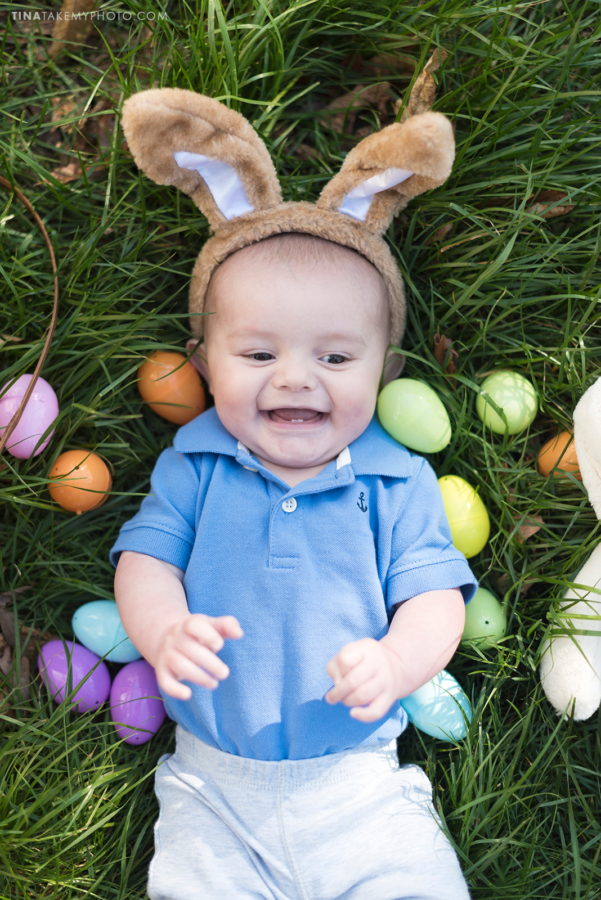 Easter baby bunny Chesterfield Virginia family photographer