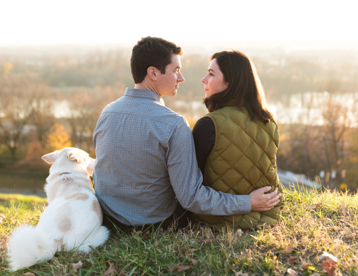 Fall Engagement at Libby Hill | Richmond Virginia Wedding Photographer