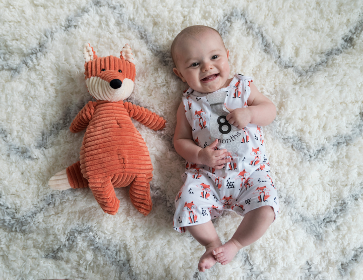 Harrison's 8 Month Photos! [RVA Family Photographer]