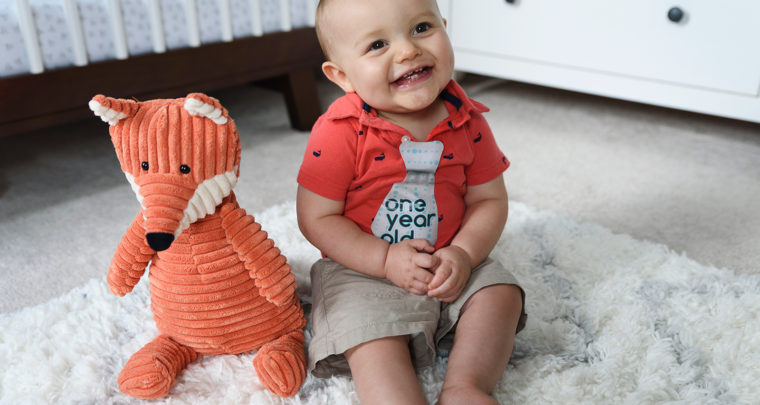 Harrison's 12 Month (One Year) Photos! [RVA Family Photographer]