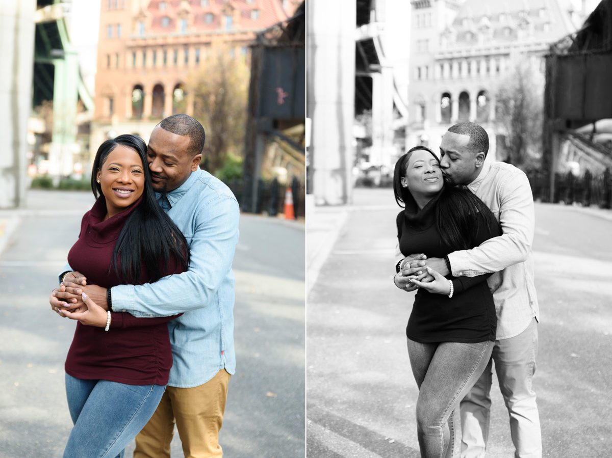 Downtown RVA Engagement Photos