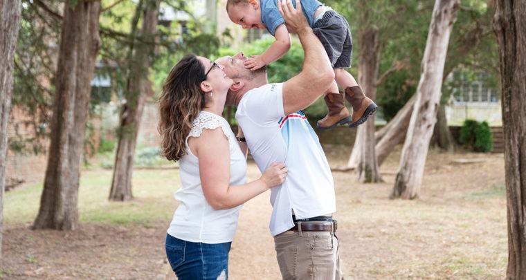 5 Year Anniversary [Bon Air, Virginia Family Photographer]