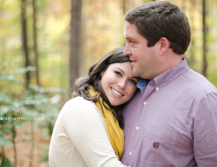 Swift Creek Fall Engagement Photo Session [Chesterfield Wedding Photographer]