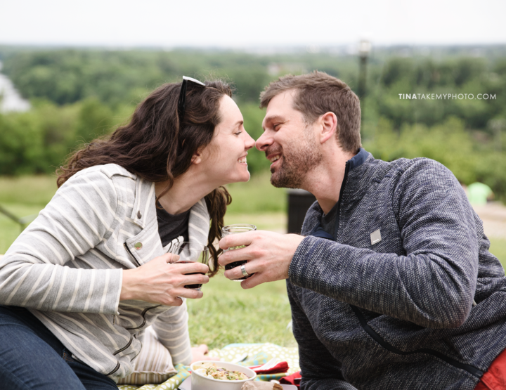 Impromptu Libby Hill Anniversary Picnic! [Richmond, Virginia Photographer]