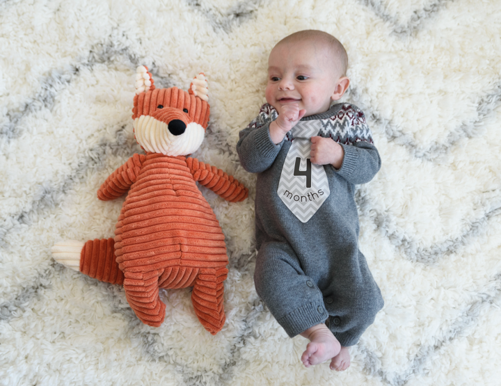 Harrison's 4 Month Photos! [RVA Family Photographer]
