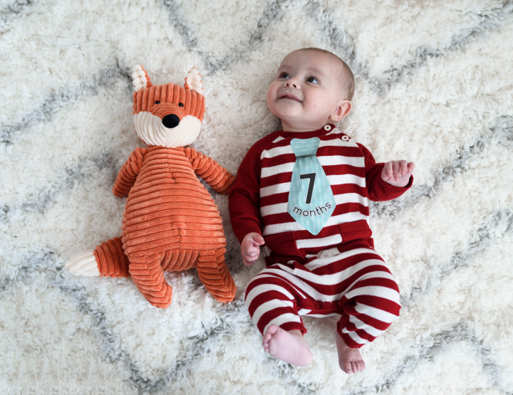 Harrison's 7 Month Photos! [RVA Family Photographer]