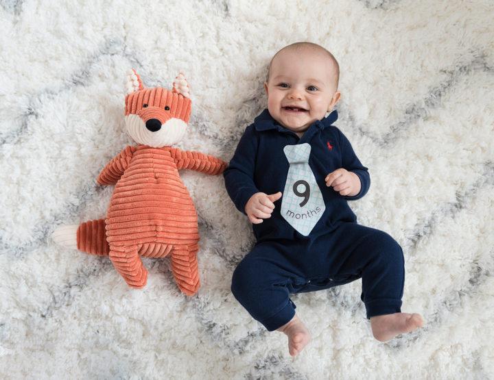 Harrison's 9 Month Photos! [RVA Family Photographer]