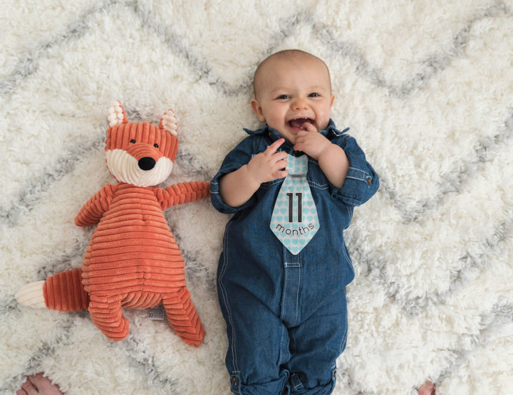 Harrison's 11 Month Photos! [RVA Family Photographer]