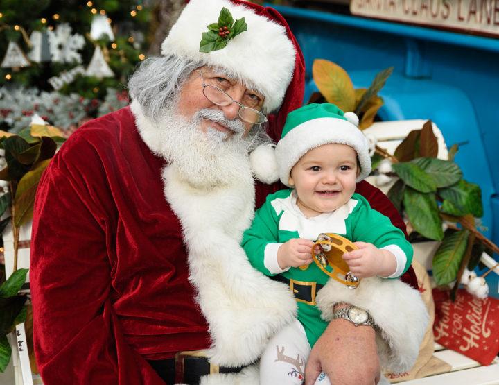 Harrison & Santa   Best Buds 2018   Midlothian Family Photographer